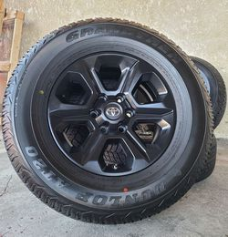 """17"""" Toyota Tacoma 4Runner Wheels Rims Rines and Tires Llantas for Sale in Westminster,  CA"""