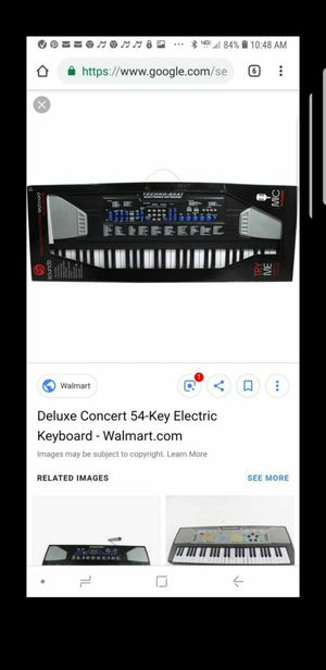 Deluxe concert 54 key keyboard for Sale in Chula Vista, CA