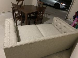 Cindy Crawford couch and pillows for Sale in Houston, TX