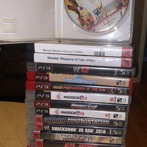 PS3 Games Lot Of 17 for Sale in Bridgeport, CT