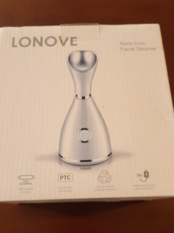 Lonove Nano Ionic Facial Steamer Blackheads Deep Face Cleansing Warm Mist for Sale in El Monte,  CA