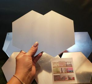 🔥 DIABLA'z - NEW UNUSED - BRAND NEW - Hexagon Mirror Stickers Wall DIY Decals 12 pieces for Sale in Rainier, WA