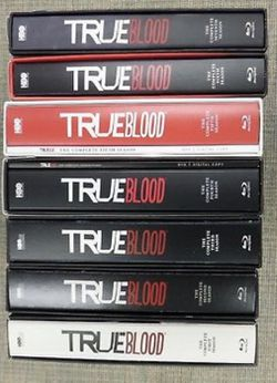 True Blood HBO Blu-ray complete season 1-7 complete Season 33 Blu-ray And dvd for $70, Disney marvel Harry Potter the Star Wars movies Bluray and dvd for Sale in Everett,  WA