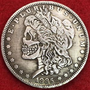 Double Headed Morgan Dollar Art Coin. Tibetan Silver. First $20 Offer Automatically Accepted. Shipped Same Day for Sale in Portland, OR