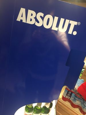 Absolute Vodka Shelving Commercial Display Unit for Sale in Vancouver, WA