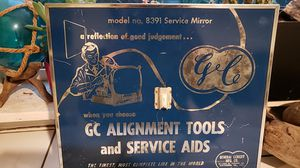 Antique Genereal Cement Advertisement Mirror for Sale in Vancouver, WA