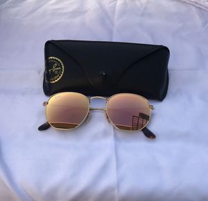 Ray ban hexagon pink lenses sunglasses for Sale in Washington, DC