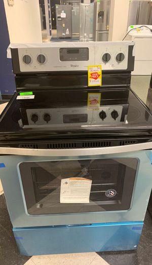 Whirlpool Electric Stove!! Brand New with Warranty!! YY for Sale in Azusa, CA