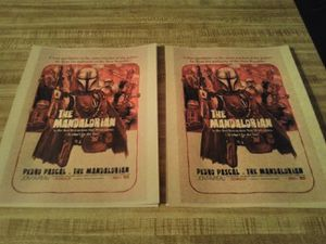 $5 each New star wars The mandalorian posters 8 inches X 11 inches for Sale in San Angelo, TX