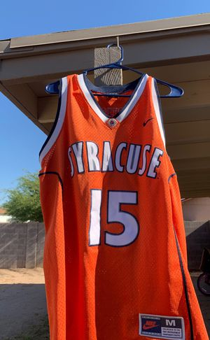 Carmelo Anthony Syracuse Nike College Jersey Size Medium for Sale in Chandler, AZ