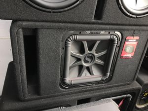 "KICKER SOLO BARIC L7 L7T L7R 12"" 12 inch ported box enclosure square 600 Watts RMS power 🔊 mono monoblock bass sub subwoofer woofer for Sale in West Carson, CA"