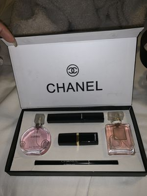 Chanel gift box 2 perfumes and makeup for Sale in Azusa, CA