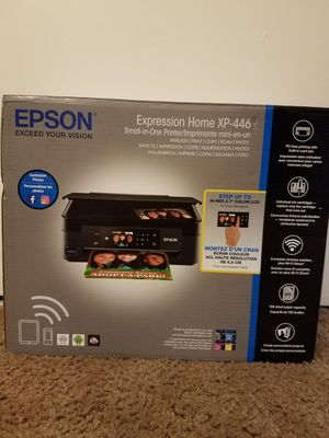 Epson Expression Home XP-446 Wireless Small in One Printer for Sale in Riverside, CA