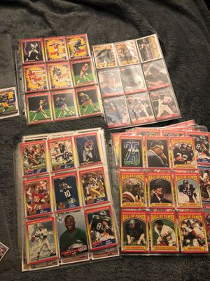 Random assortment of football, baseball and basketball cards for Sale in Philadelphia, PA