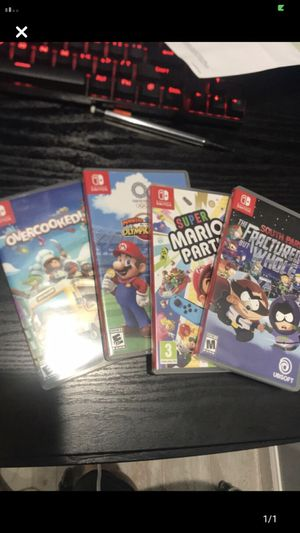 Nintendo Switch Games Price Firm for Sale in San Lorenzo, CA