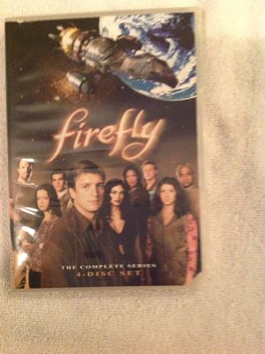 FIREFLY THE COMPLETE SERIES 4-DISC SET for Sale in Brooksville, FL