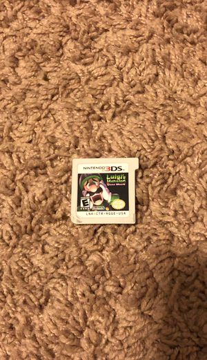 Nintendo Luigis Mansion Dark Moon for Sale in Stamford, CT