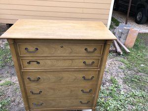 Antique Bassett dresser bedroom set 1950's circa!!! for Sale in Houston, TX