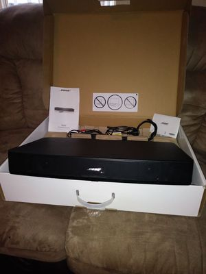 Bose solo tv sound system good sound end good condition for Sale in Denver, CO