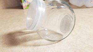 Small decorative glass jar for Sale in Custer Park, IL