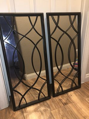 Rectangular Mirrors Black for Sale in Henderson, NV