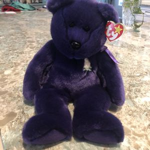 TY Beany Baby Stuffed Plush Teddy Bear. ' for Sale in St. Augustine, FL