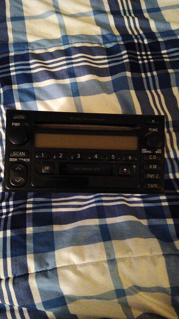 Oem Toyota CD stereo