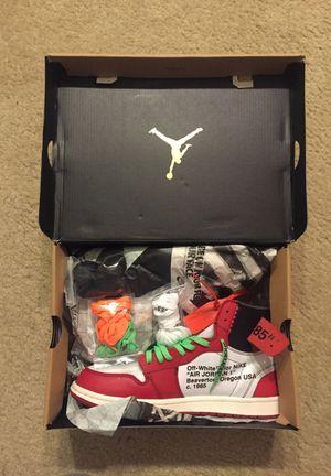 Jordan 1 offwhite size 12 for Sale in Alexandria, VA