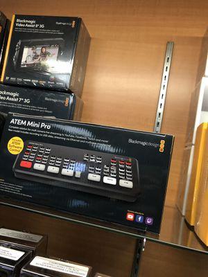 Brand New BlackMagic Atem Mini Pro Video Switcher for Sale in Corona, CA