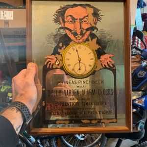 Antique Mirror Advertisement for Sale in San Antonio, TX