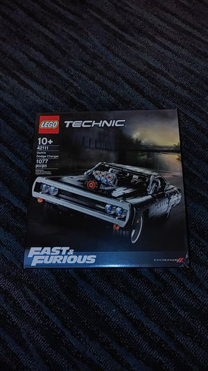 LEGO Technic Fast & Furious Dom's Car 42111 for Sale in Mission Viejo, CA