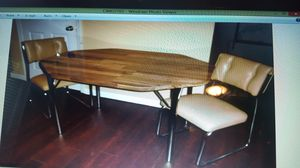Kitchen / Dinette table with leaf and 2 chairs for Sale in St. Louis, MO