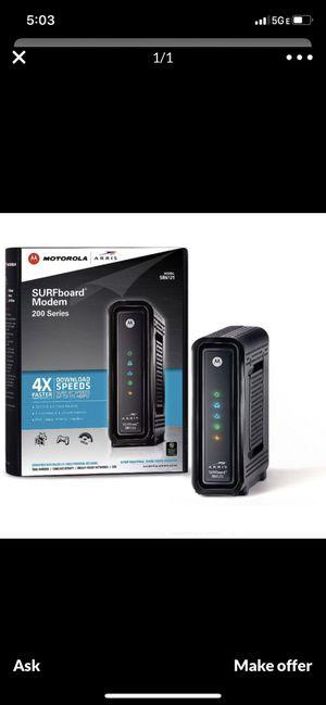Surfboard Motorola modem for Sale in Redmond, WA