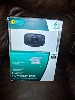 Logitech C510 HD Webcam for Sale in Kingsport, TN
