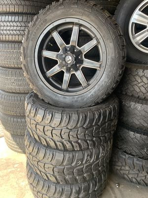 RIMS AND TIRES 20INCH FUEL for Sale in San Diego, CA