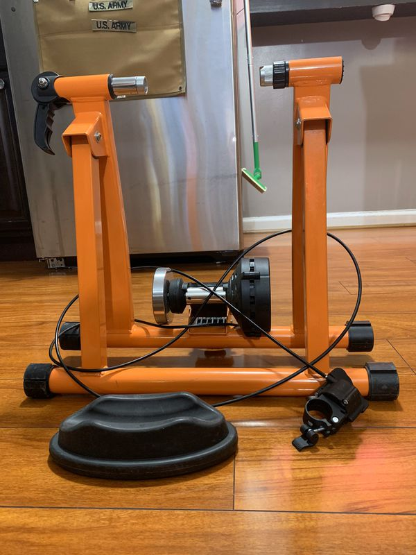 Indoor Bicycle Trainer Exercise Machine - Variable Magnetic Resistance