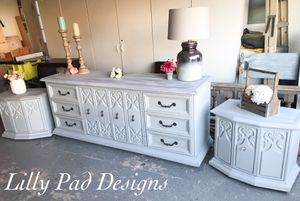 Elegant Dresser and 2 Nightstands for Sale in Stafford Township, NJ