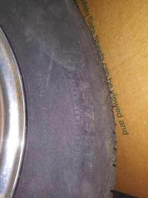 Set of 4 trailer tires 205/75r14 for Sale in Lakeside, CA