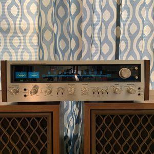 Pioneer SX-828 receiver W/ Pair of Pioneer CS-801 speakers for Sale in Euless, TX
