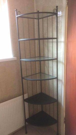Ikea Rönnskär Corner Shelf Black for Sale in Trenton, NJ