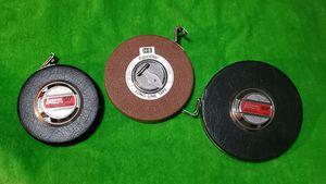 3 Vintage Measuring Tape for Sale in Las Vegas, NV