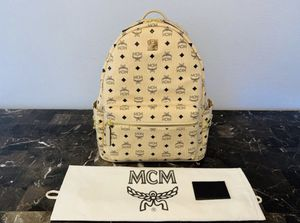 """MCM Backpack """"Beige Studded"""" for Sale in San Diego, CA"""