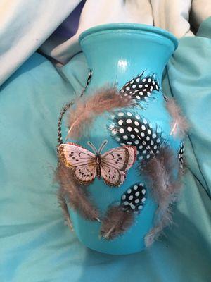 Blue Butterfly Vase 🦋 for Sale in Phoenix, AZ