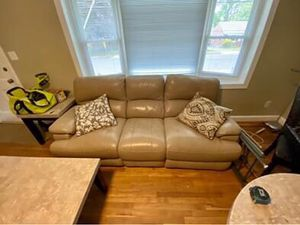 Leather Couch for Sale - need gone ASAP!!!! for Sale in Fairfax, VA