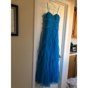 Olympic Blue Prom Dress For Sale Size 5/6 for Sale in Scottsdale, AZ