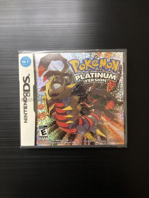 NEW Sealed Pokemon Platinum (Nintendo DS,2007) Saves, Works, Great Gift! (Read) for Sale in Pembroke Pines, FL