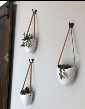 3 Hanging flower plant pot for Sale in Highland, UT