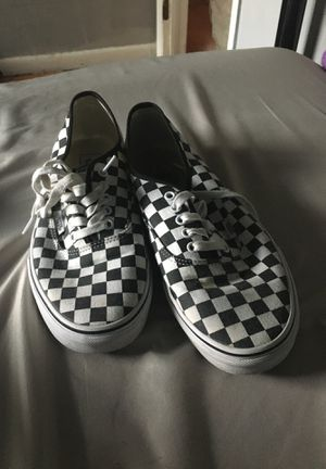 Size 10.5 checker board Vans for Sale in Tampa, FL
