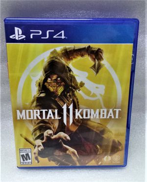 PS4 MORTAL 11 KOMBAT GAME for Sale in Largo, FL
