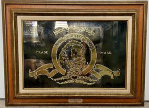 Limited Edition 50th Anniversary MGM Mirror for Sale in Torrance, CA